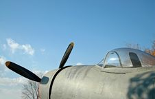 Free Vintage WWII Fighter Airplane Stock Photos - 861423