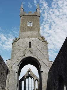 Historic Cathedral Ruins Royalty Free Stock Image
