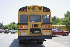 Free Big Yellow School Bus Royalty Free Stock Photo - 861645