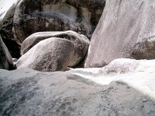 Free Boulders At Virgin Gorda Stock Photography - 861652