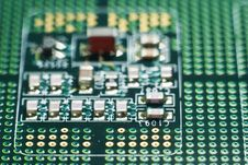 Computer Hardware Contacts Royalty Free Stock Photo