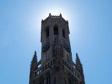 Free Belfort Bruges Royalty Free Stock Photos - 862748