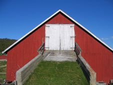 Free Barn Bridge Stock Photo - 863010