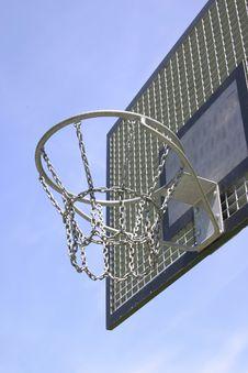 Free Basketball Hoop Stock Image - 863141