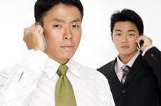 Free Modern Businessmen Stock Photos - 863663