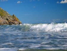 Free Wave Breaking Stock Photography - 864932