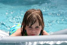 Free Girl In Swimming Pool Stock Photo - 867960