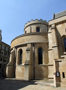 Free Temple Church  5 Royalty Free Stock Image - 867986