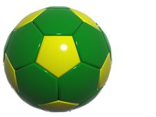 Free Brazill Soccer Ball Stock Photography - 868262