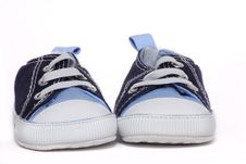 Free Baby Sneakers Stock Image - 868671