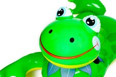 Free Inflatable Frog Pool Toy Stock Photo - 868800