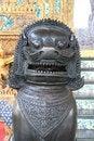Free Lion Statue In Wat Phra Kaew Stock Images - 8600544