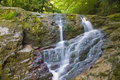 Free Two Small Waterfalls Royalty Free Stock Photos - 8601748