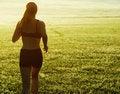 Free Beautiful Woman Runner Stock Image - 8604401
