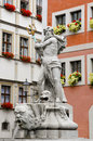 Free Neptune Statue In Görlitz Royalty Free Stock Images - 8608559