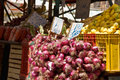 Free Onions At The Farmer S Market Stock Photography - 8609002
