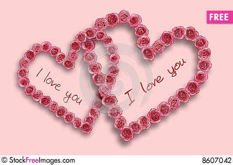 Love Heart With Rose - Free Stock Images & Photos - 8607042 | StockFreeImages.com
