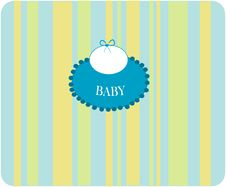 Free Clothes For Baby. Royalty Free Stock Photography - 8600027