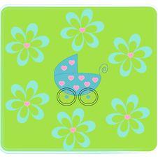 Free Pram For Newborn. Royalty Free Stock Photo - 8600225