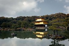 Free Golden Temple In Kyoto, Japan Royalty Free Stock Photos - 8600238