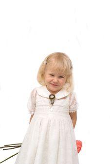 Free Romantic Little Girl Royalty Free Stock Photos - 8600298
