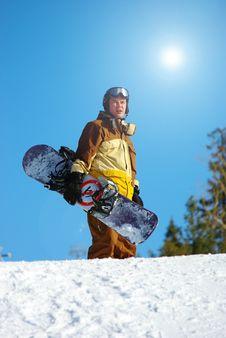 Free Snowboarder Stock Photos - 8600433