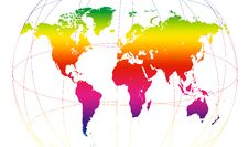 Free Spectrum Of World Stock Image - 8600671