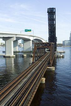 Free Railroad Bridge Royalty Free Stock Images - 8600789