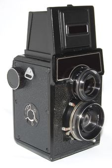 Free Old Russian Photo Camera Royalty Free Stock Images - 8601589