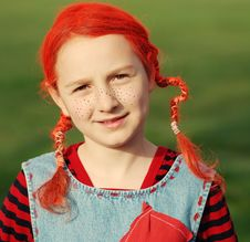 Free Funny Girl Royalty Free Stock Photography - 8601627