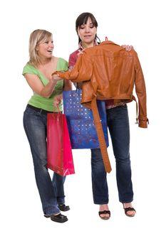 Free Shopaholics Royalty Free Stock Photos - 8602938
