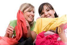Free Shopaholics Royalty Free Stock Photos - 8602948