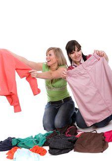 Free Shopaholics Stock Image - 8602961
