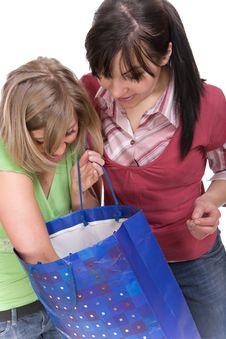 Free Shopaholics Stock Image - 8602971
