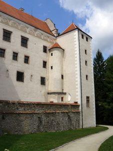 Free Telc Castle Royalty Free Stock Photo - 8602975