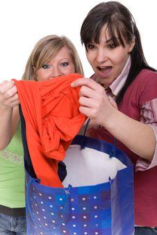 Free Shopaholics Stock Image - 8602981