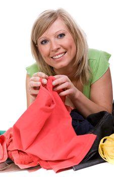 Free Shopaholics Stock Images - 8602994