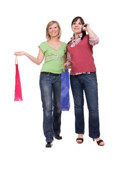 Free Shopaholics Stock Images - 8603234