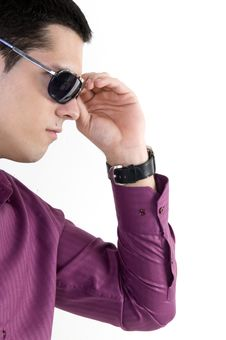 Free Young Man With Sunglasses Royalty Free Stock Photos - 8603938