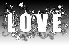 Free Love - Evolution Text Stock Photos - 8604113