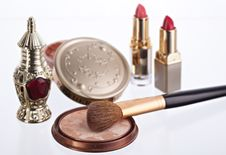 Free Still Life With Cosmetics Stock Image - 8604161