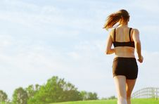 Free Beautiful Woman Runner Stock Images - 8604464