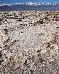 Free Badwater, Death Valley Stock Photo - 8605050
