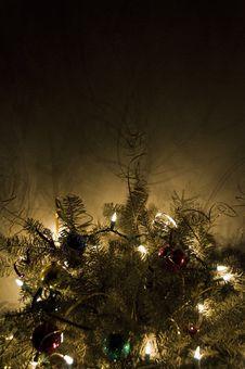 Free Illuminated Christmas Tree Stock Images - 8605204
