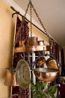 Free Vintage Copper Kitchenware Stock Photos - 8605743