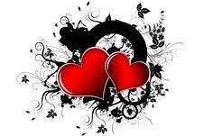 Free Hearts Royalty Free Stock Photography - 8605777