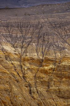 Free Ubehebe Crater-02 Stock Photography - 8605822