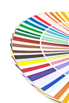 Free Color Guide For Choose Paint Royalty Free Stock Photo - 8606465
