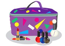 Free Cosmetic Bag Royalty Free Stock Image - 8606576