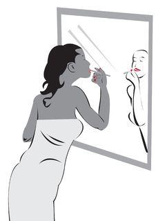 Free Applying Make-up Stock Photos - 8606583